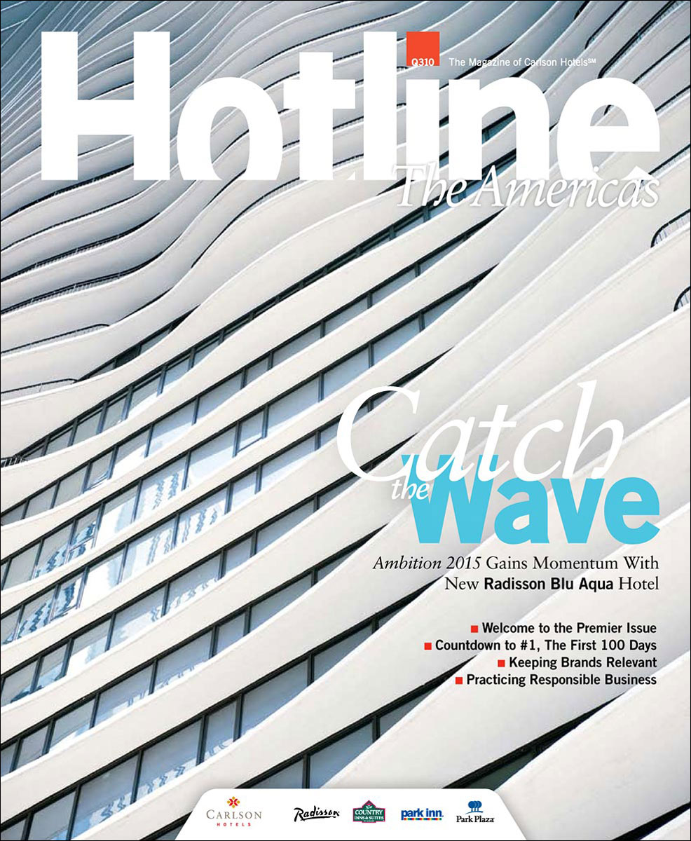 Radisson Blu Aqua Hotel for Hotline Magazine