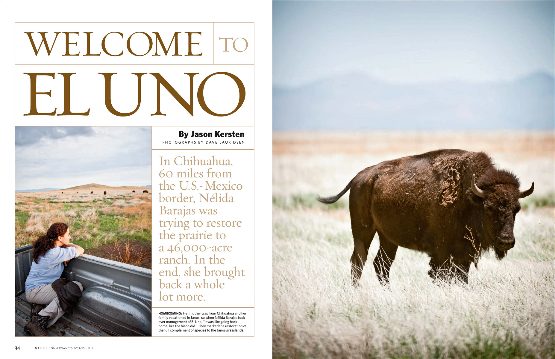 El Uno for The Nature Conservancy