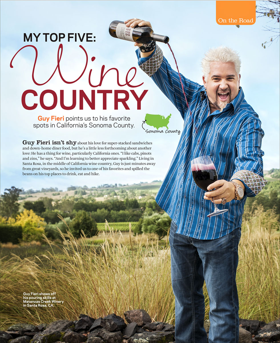 Guy Fieri for Food Network Magazine