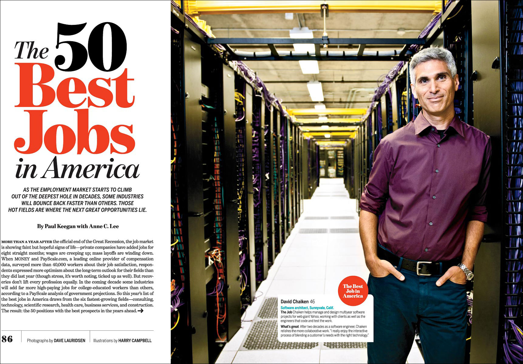 50 Best Jobs for Money Magazine