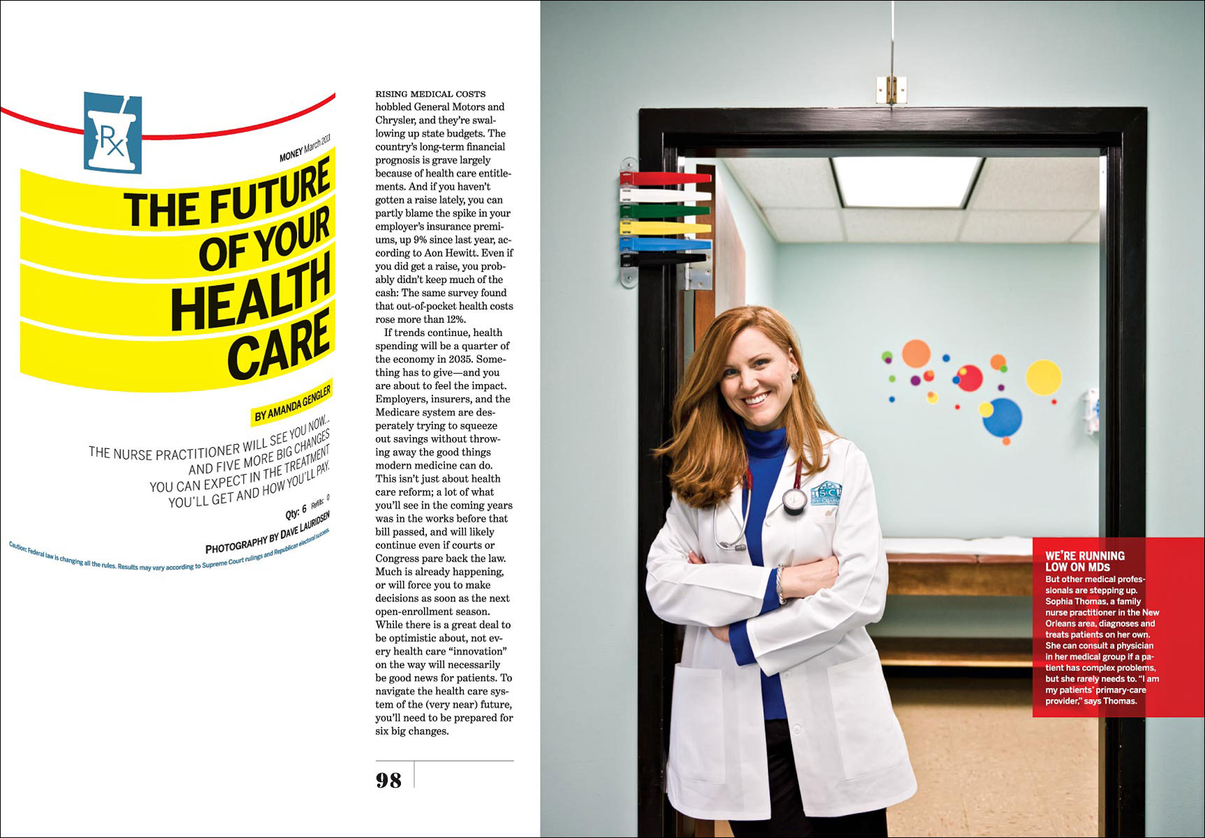Health Care for Money Magazine