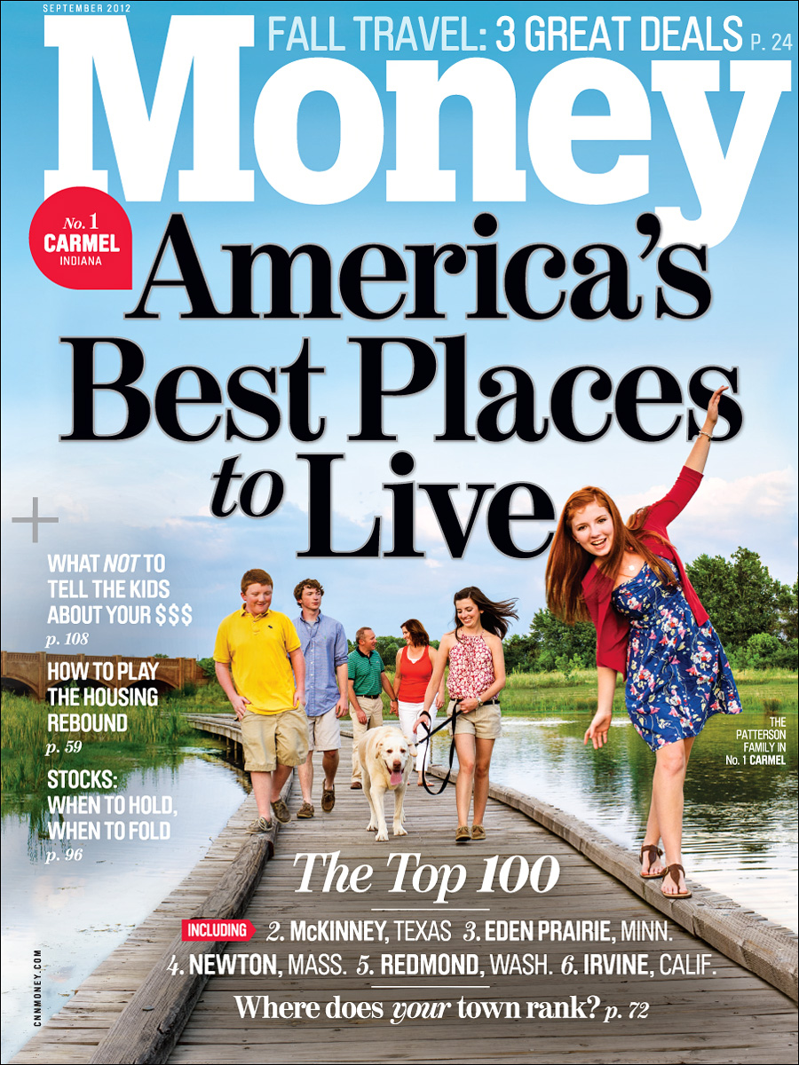 Best Places to Live for Money Magazine