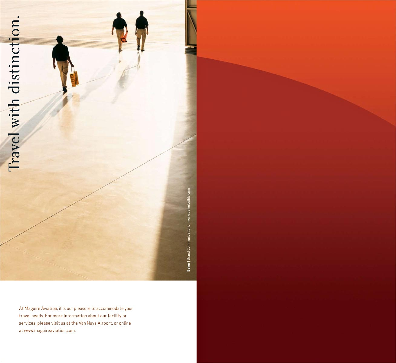 Maguire Brochure for Baker Brand Communications