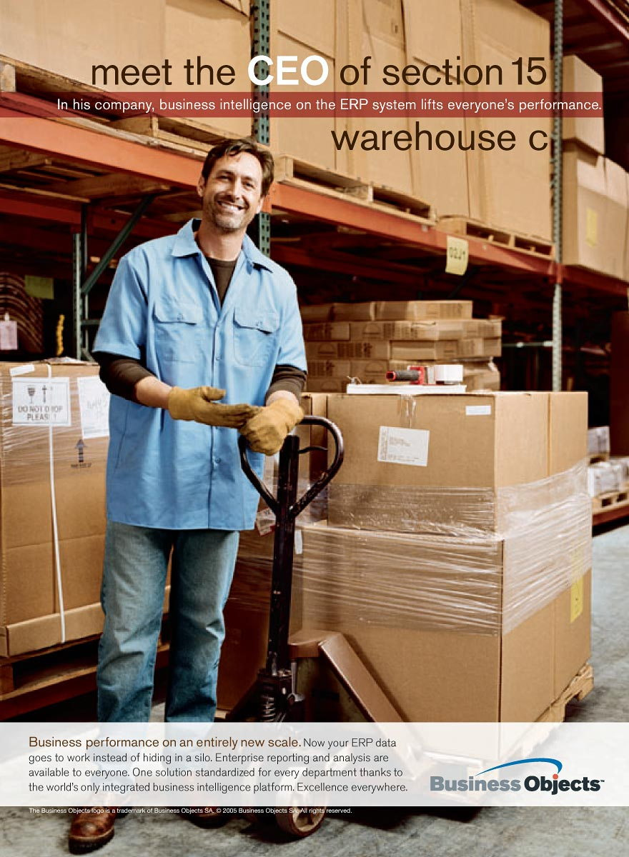 Warehouse for Business Objects
