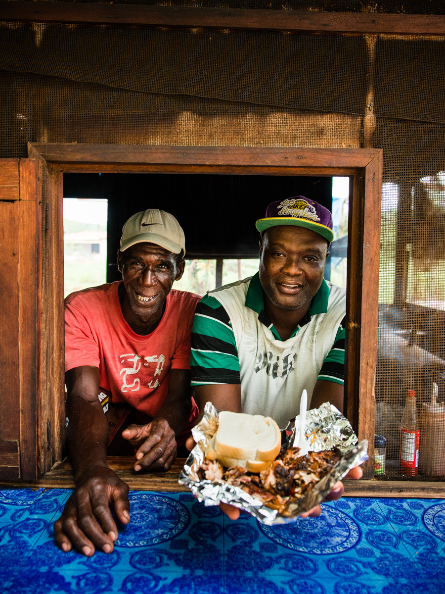 Jerk Chicken Stand