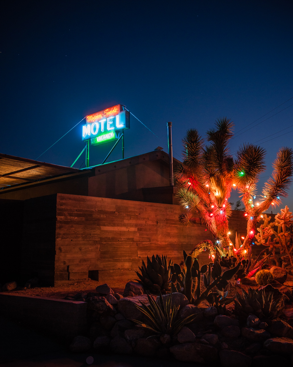 Motel, Joshua Tree  for Travel & Leisure