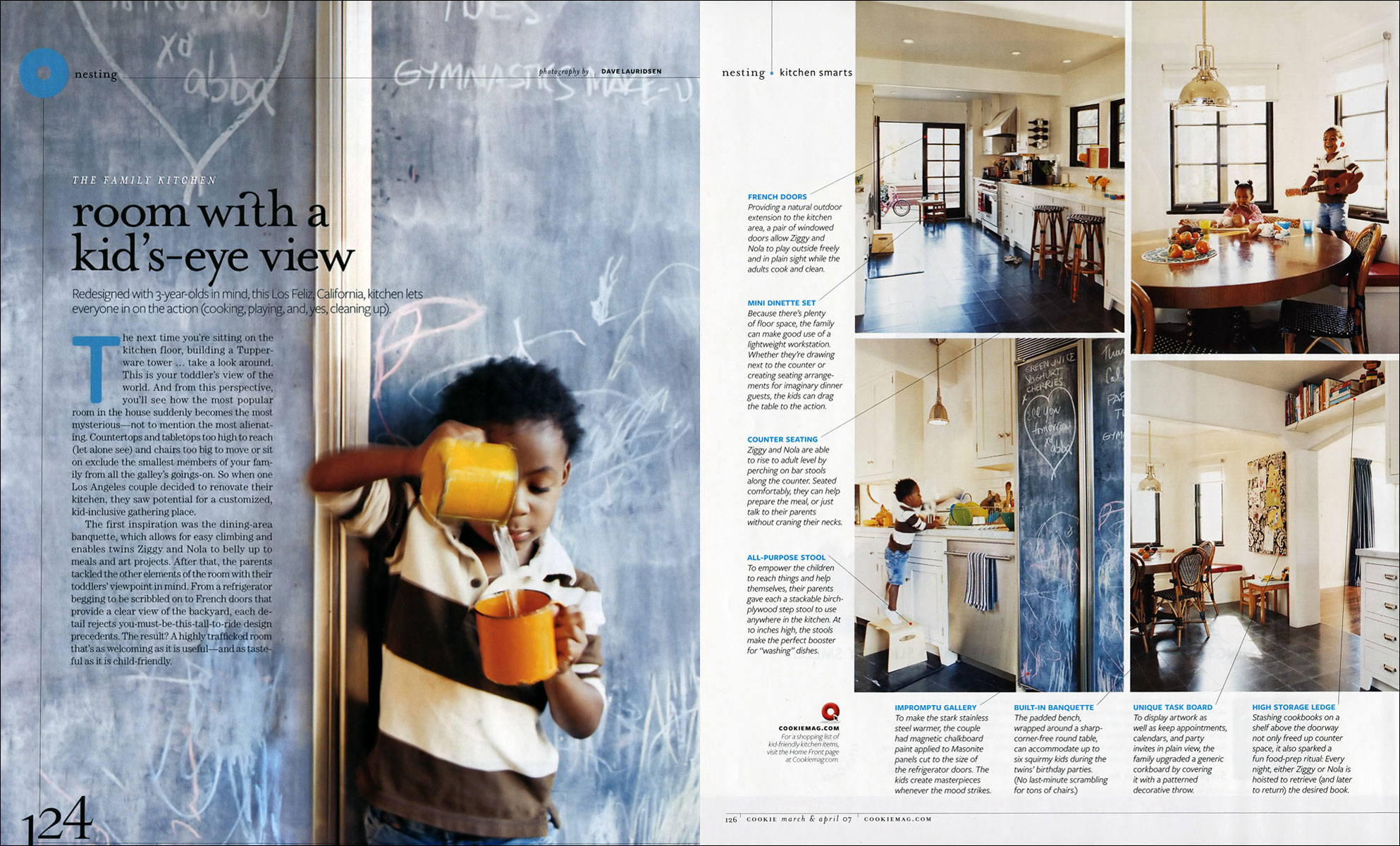 Los Feliz Kitchen for Cookie Magazine