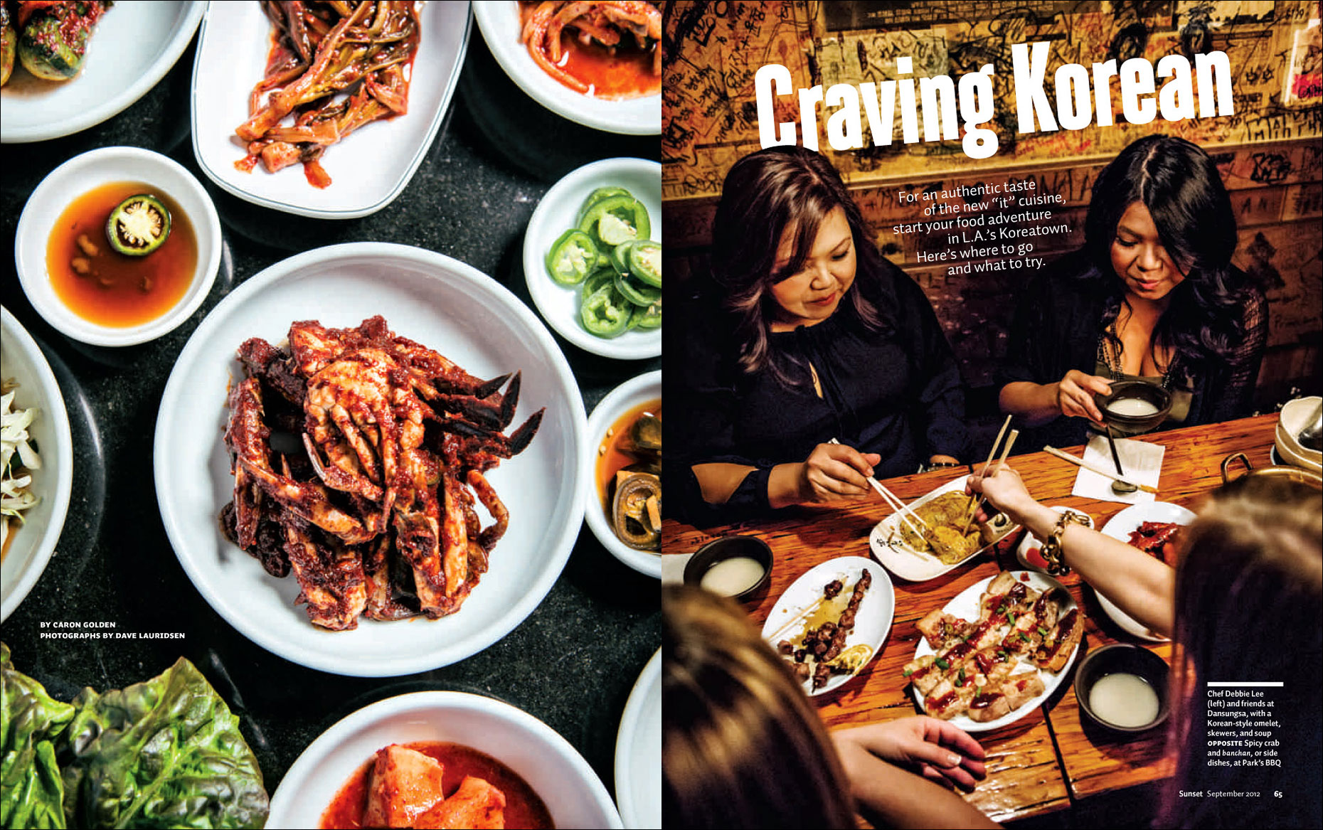 Koreatown for Sunset Magazine