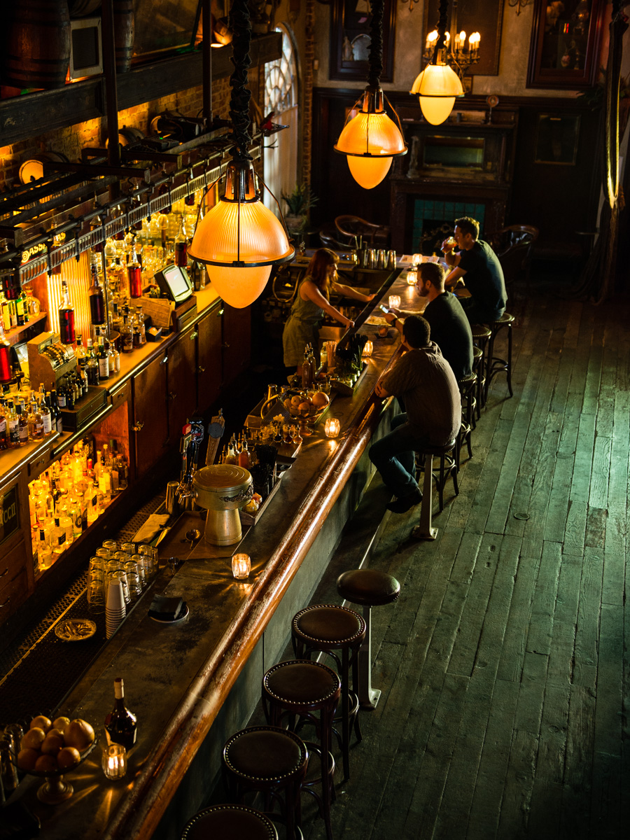 Sassafras Saloon for Spirit Magazine