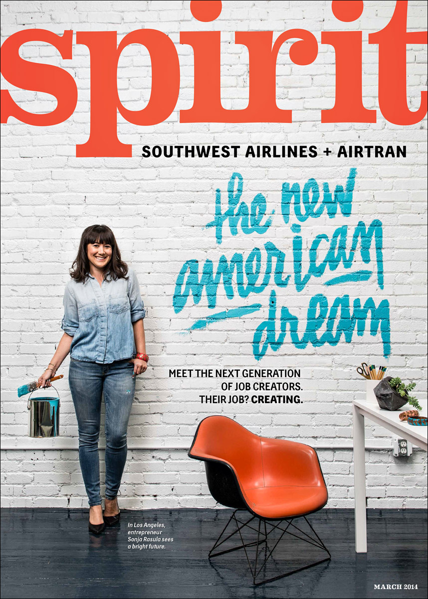 New American Dream for Spirit Magazine