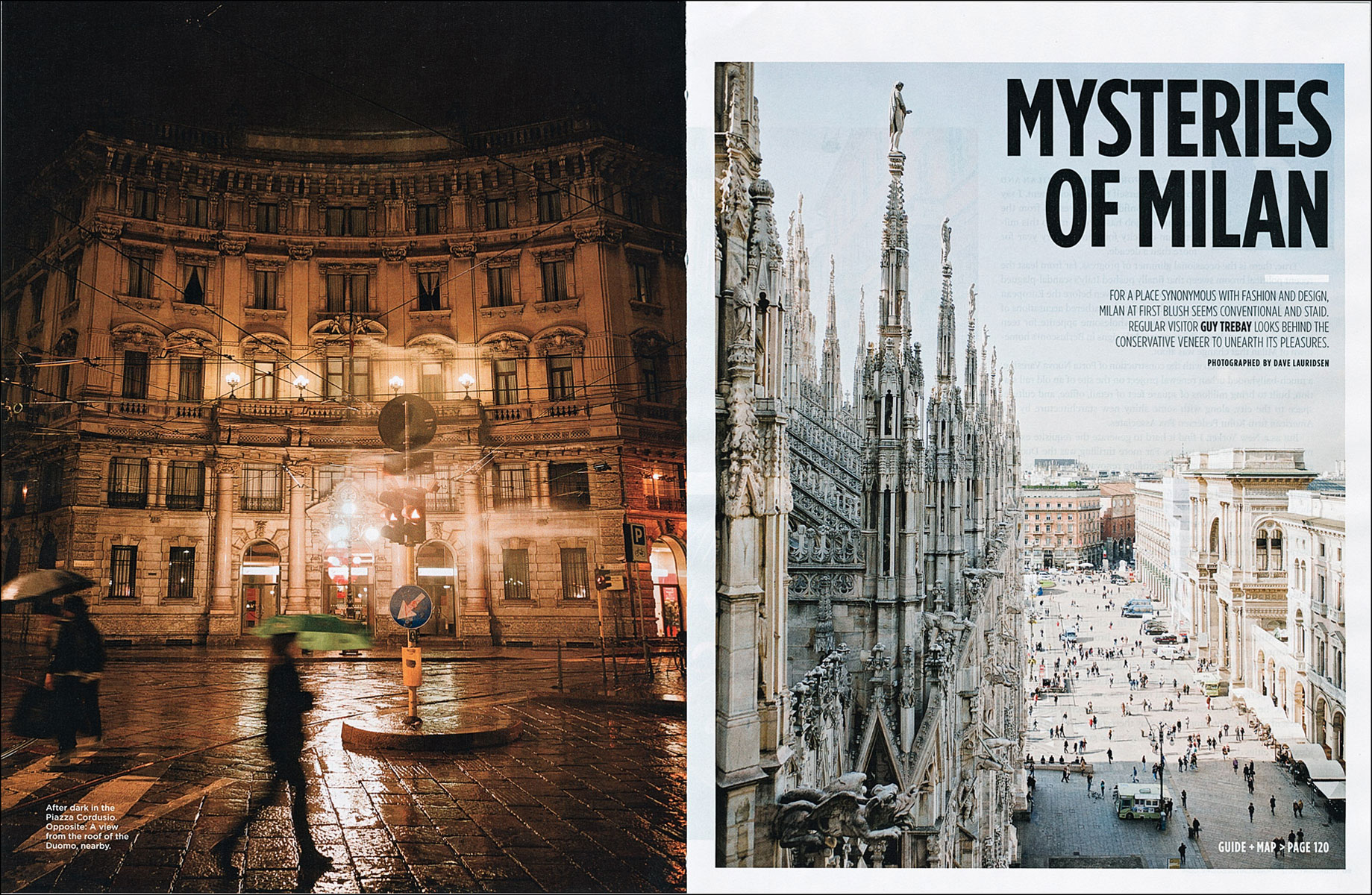 Milan for Travel and Leisure