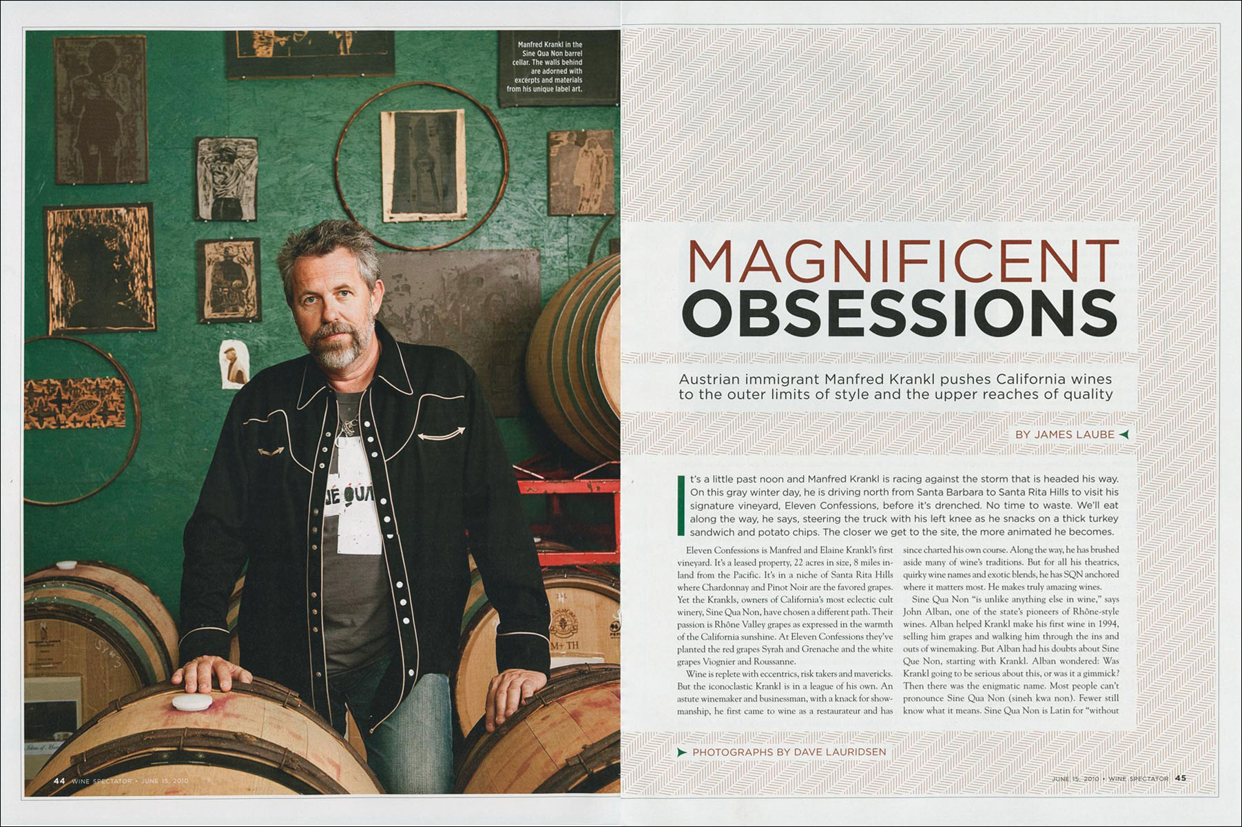 Manfred Krankl for Wine Spectator